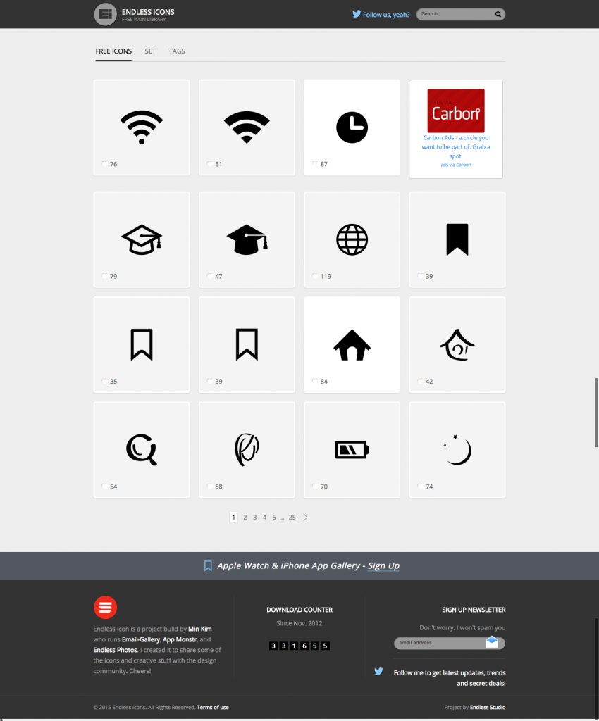 FireShot Capture - Endless Icons I Free Icon Library - http___www.endlessicons.com_